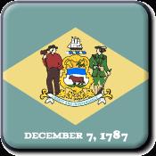 Delaware State Icon