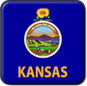 Kansas State Flag Icon