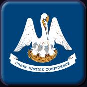 Lousiana State Flag Icon