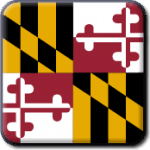 Maryland State Flag Icon
