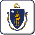 Massachusetts State Flag Icon