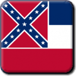 Mississippi State Flag Icon
