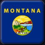 Montana State Flag Icon