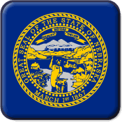 Nebraska State Flag Icon