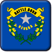 Nevada State Flag Icon