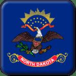 North Dakota State Flag Icon