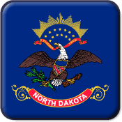North Dakota State Flag Icon