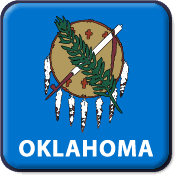 Oklahoma State Flag Icon