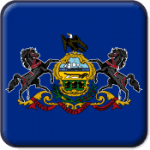 Pennsylvania State Flag Icon