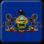 Pennsylvania State Flag Icon