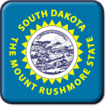 South Dakota State Flag Icon