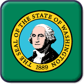 Washington State Flag Icon