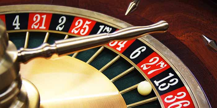 Roulette Game Wheel and Ball