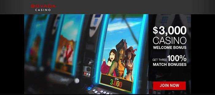 Screenshot of bovada casino
