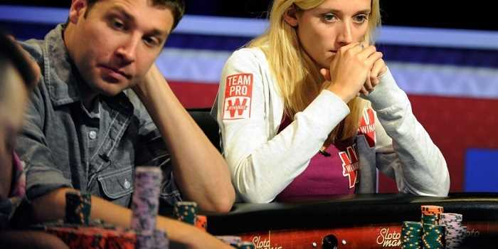sad poker players