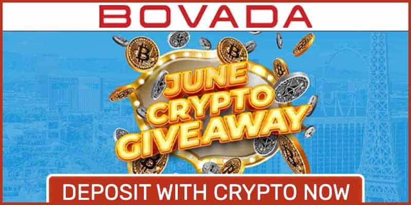 Bovada Crypto Givaway